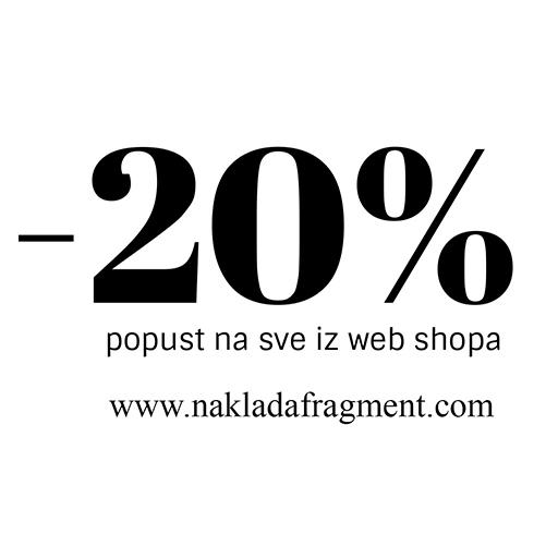 20% Popusta I Besplatna Poštarina Za Narudžbe Preko 150kn Na Našem Webshopu!